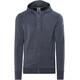 super.natural M's Essential Hoodie Zip Navy Blazer Melange